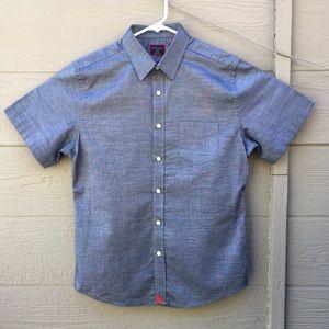 Untuckit Slim Fit 100% Cotton Short Sleeve Shirt